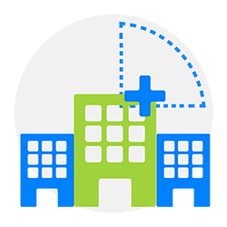 pictogram building