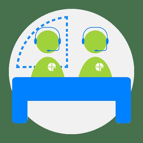 pictogram επιτροπή ραντεβού